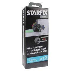 """Sortie de cloison Starfix PER Ø12 Raccord à Glissement - Femelle 1/2"""" (15/21) pour robinet"""