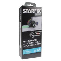 """Sortie de cloison STARFIX PER Ø16 Raccord à Glissement - Femelle 1/2"""" (15/21) pour robinet"""