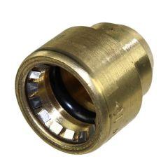 Raccord cuivre Push-Fit à clipser - Bouchon FF
