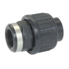 Raccord pression PVC Nicoll - Union 3 pièces Femelle à visser NF