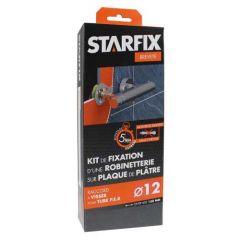 """Sortie de cloison STARFIX PER Ø12 Raccords à Compression - Femelle 1/2"""" (15/21) pour robinetterie entraxe 150 mm"""