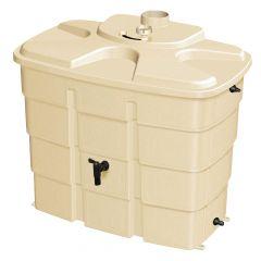 Cuve de 180L de récupération et de stockage d'eaux pluviales waterbox de FIRST PLAST