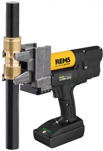 Coffret pince à glissement REMS Ax-Press 30 22 V sur accu Ø12-32 mm - Rems