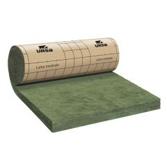 Rouleau laine de verre URSA PRK 35 TERRA revêtu kraft - Ep. 140mm - 5,52m² - R 4.0