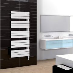 Sèche-serviettes électrique ARBORESCENCE - Disponible en 3 puissances - collecteur à gauche ou à droite