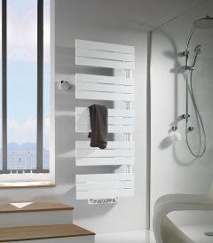 Sèche-serviettes eau chaude ARBORESCENCE avec soufflant Speed'Air - Disponible en 3 puissance - collecteur à gauche ou à droite