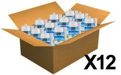 12 cartouches mastic silicone Blanc GEBSICONE W2
