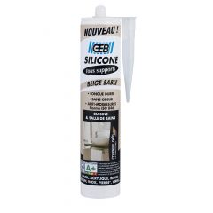 Silicone GEB tous supports cartouche 280ml - Beige sable