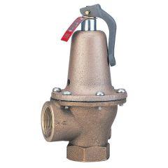 Soupape de sûreté 174A en bronze - 9 bar