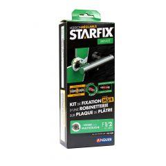 """STARFIX (Douche/Bain Douche) 150mm à visser pour MULTICOUCHE - Femelle 1/2"""" (15/21) - Raccords visitables"""
