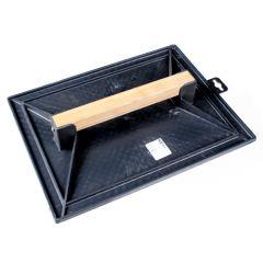 Taloche plastique noire 200x120mm
