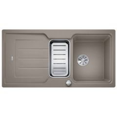 Évier de cuisine Neo 6S - Tartufo - sous-meuble 60 cm - L 1000 x l 510 x P 190 mm + Planche en composite - Blanco