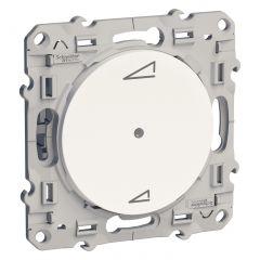 Variateur universel à poussoir ODACE Blanc - S520560
