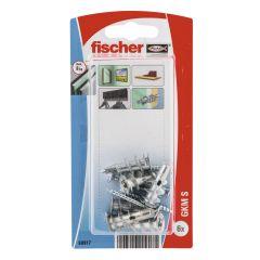 6 Chevilles autoperceuse fischer GKM-SF - Fischer