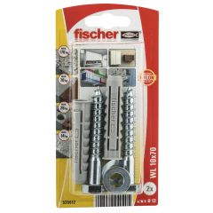 Kit de fixation pour chauffe-eau 10x50mm - Fischer