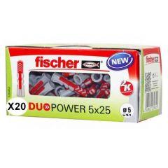 Boîte de 20 chevilles DuoPower Ø14x70mm - Fischer