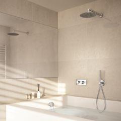 Pack Premium bain/douche encastré mitigeur TRIVERDE - Cristina Ondyna