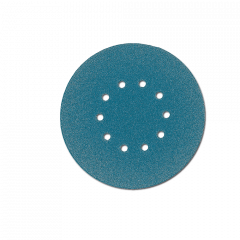 Paquet de 12 abrasifs ZIRCOFLEX perforé Ø225mm - grain 24 - pour Giraffe - Flex