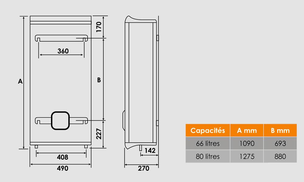 chauffe eau electrique carr finest chauffeeau chauffeeau lectrique stable l atlantic stu with. Black Bedroom Furniture Sets. Home Design Ideas