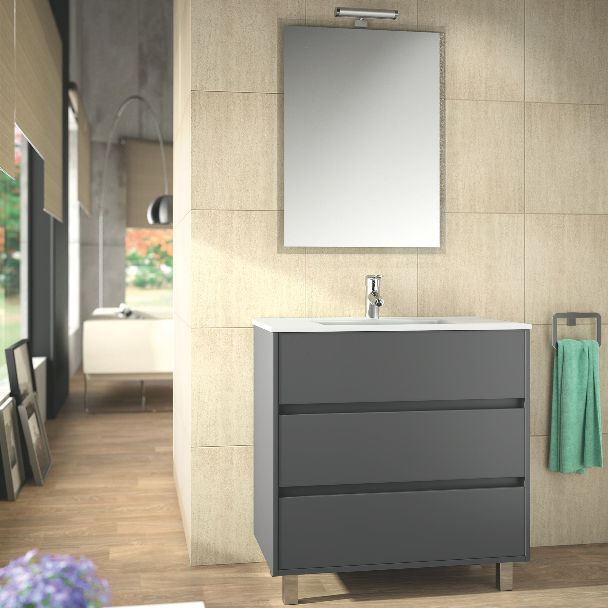 Boite Dcl Salle De Bain ~ meuble lavabo et vasque salgar