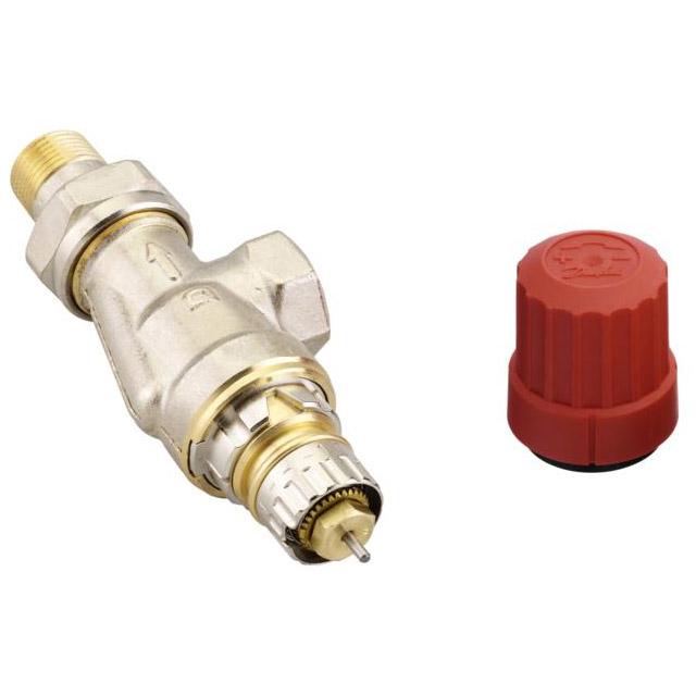 robinet thermostatique pour radiateur avec corps querre invers - Radiateur Avec Robinet Thermostatique