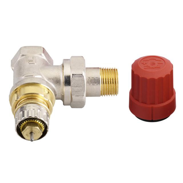 robinet thermostatique pour radiateur avec corps équerre réglable - Radiateur Avec Robinet Thermostatique