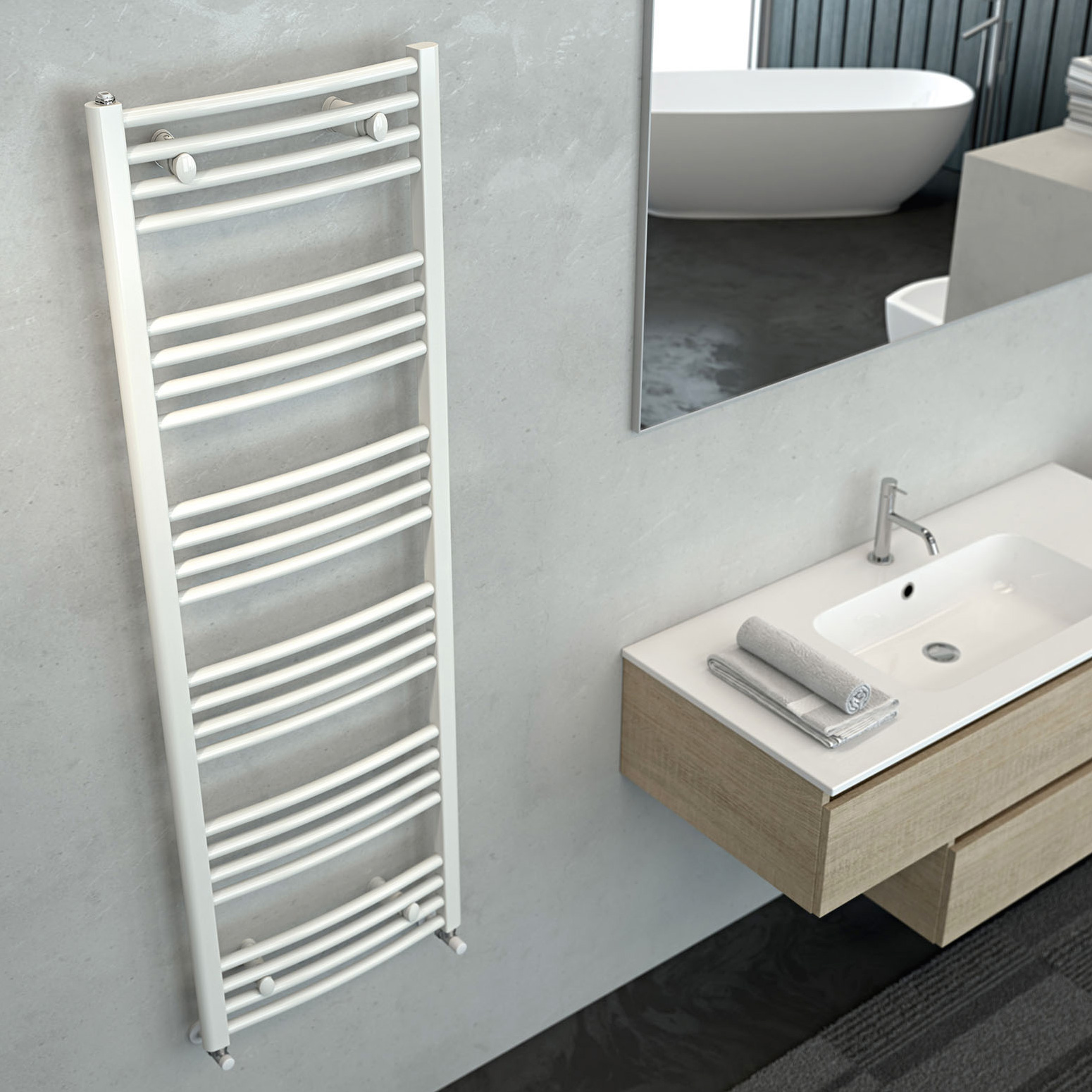 radiateur eau seche serviette great radiateur sche. Black Bedroom Furniture Sets. Home Design Ideas
