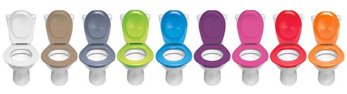 Abattant et lunette de WC clipsables