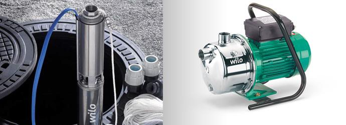 pompe a eau WILO