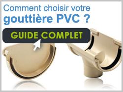 Guide gouttière pvc