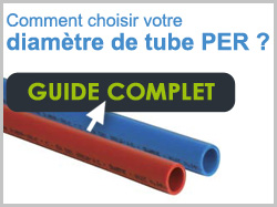 Guide diamètre tube PER