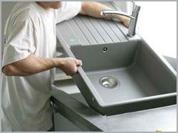 Comment installer un évier de cuisine