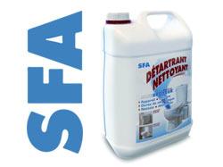 détartrant nettoyant SFA