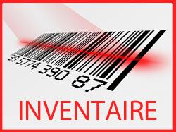 Inventaire du stock
