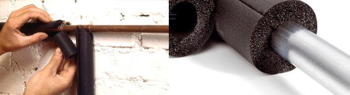 Isolation des tuyaux PER et cuivre