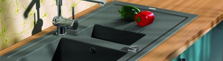 Blog pourquoi choisir un vier de cuisine en r sine anjou connectique - Renover un evier en resine ...