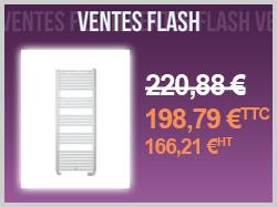 Vente flash radiateur sèche-serviette Banga finimetal