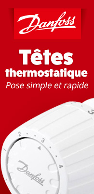 Tête thermostatique Danfoss