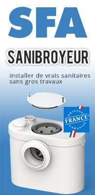 Sanibroyeur SFA