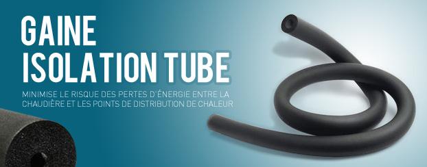 Isolation des tubes