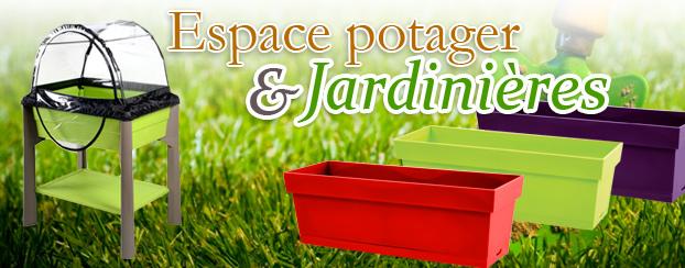 Pot de jardin et jardinière