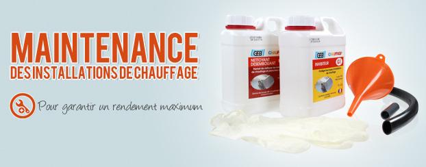 Maintenance chauffage
