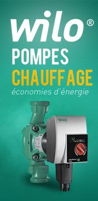 WILO pompe chauffage