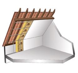 Isolation combles aménagés sous toiture