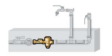 réducteur pression pour compteur d'eau