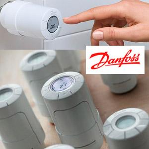 Tête électronique Living Eco Danfoss