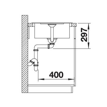 dimension METRA 45 lateral