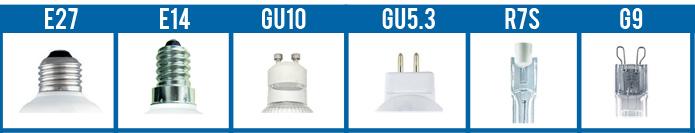 Types d'ampoule