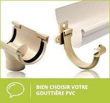 choisir sa gouttière PVC