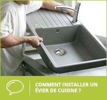 remplacer évier de cuisine